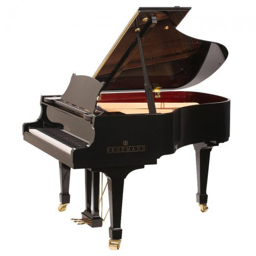 "Brodmann PE 162 grand piano 5'4"" ebony polish"