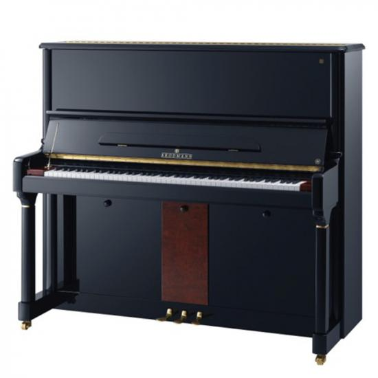 "Brodmann PE 132V upright piano 52"" ebony polish"