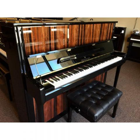 "Brodmann PE 121 upright piano 48"" apple"