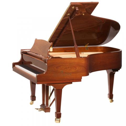 "Brodmann PE 187 grand piano 6'2"" Mahogany/Walnut"